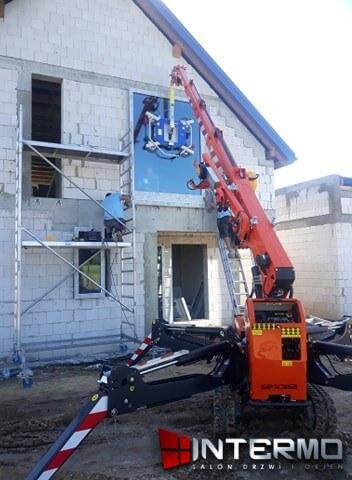 Mocowanie okna do sciany
